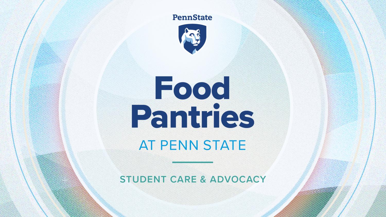 Penn State Food Pantries graphic