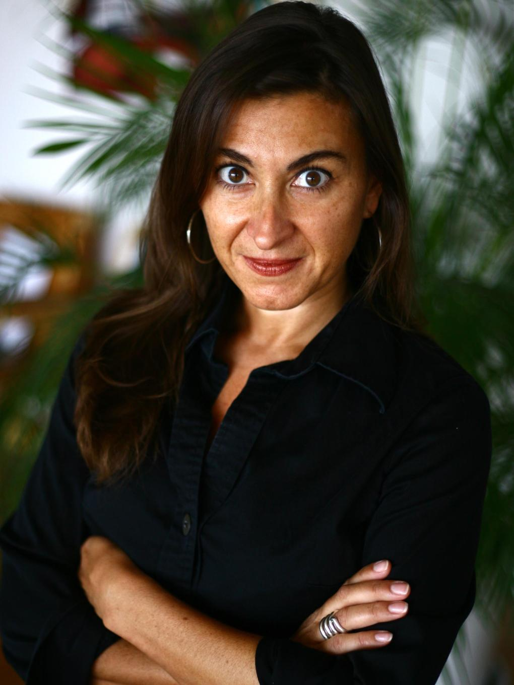 Lynsey Addario pictured.