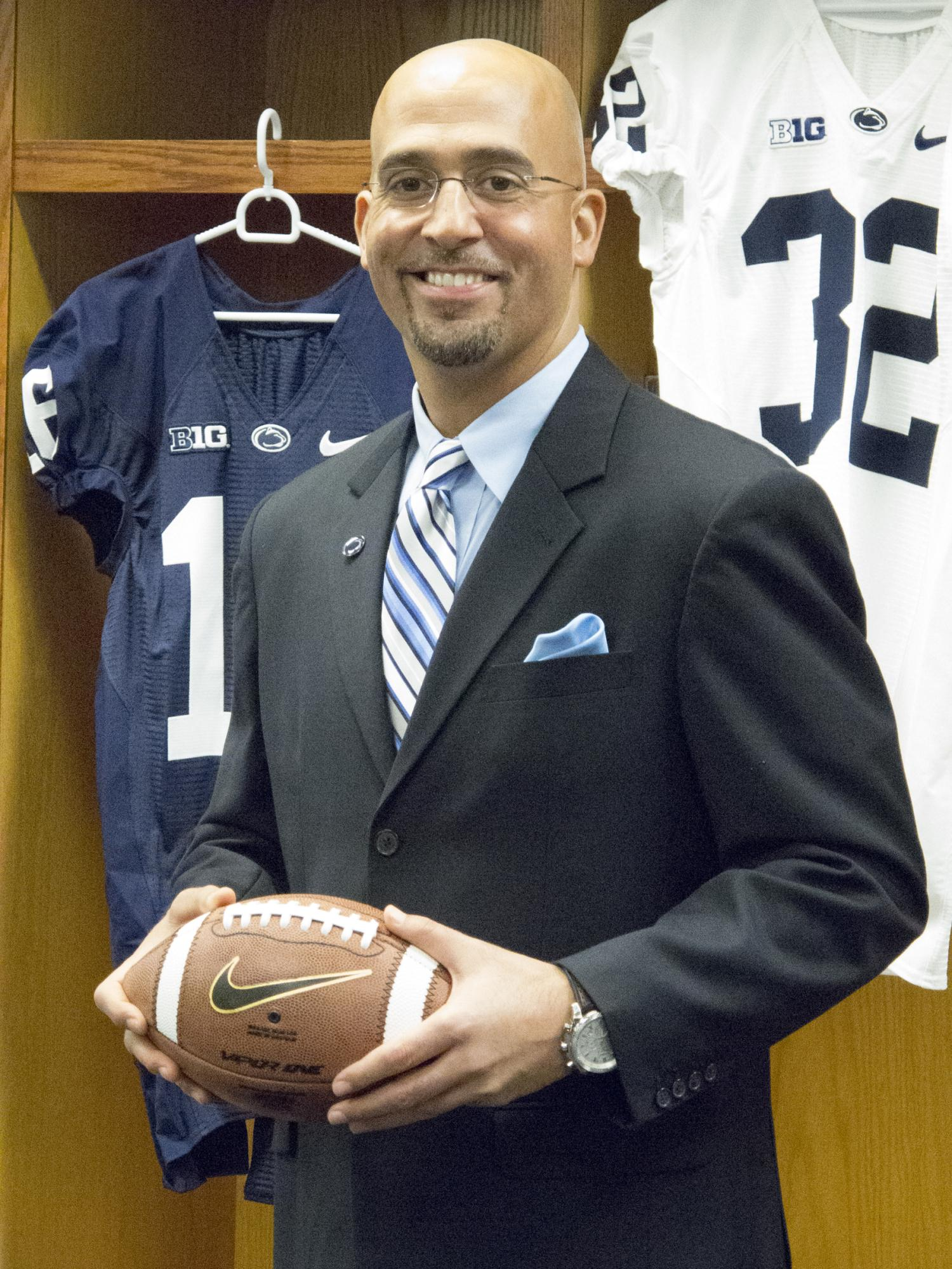 Franklin-first official portrait at Penn State