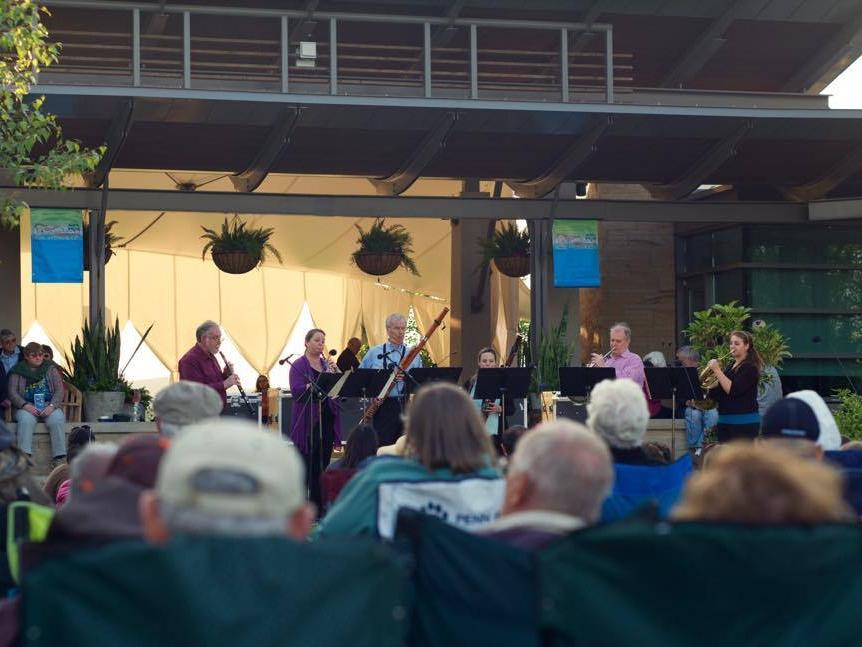 Music in the Gardens concert