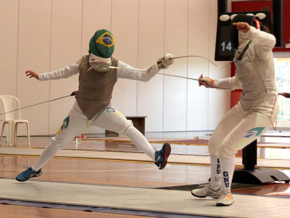 Brazilian fencer Bia Bulcão