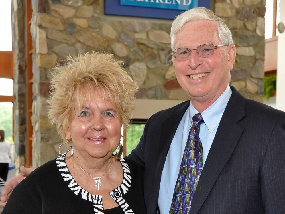 A portrait of Sally and Bob Metzgar, longtime supporters of Penn State Behrend.