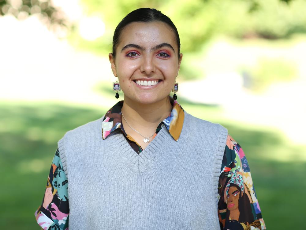 Photo of Brisa Luzzi Castro, an active student leader at Penn State Brandywine.