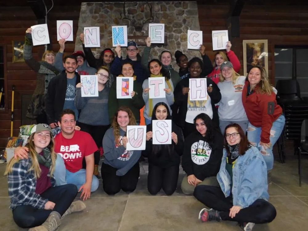 Penn State students participate in Connect Unplugged leadership retreat in spring 2019