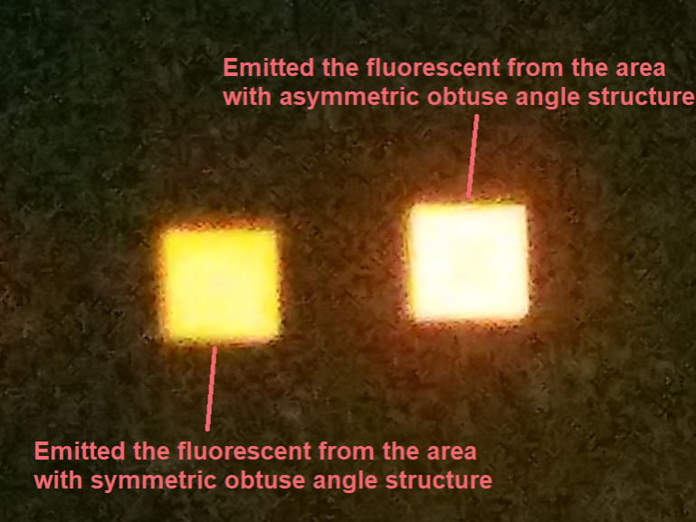 Comparing emitted light