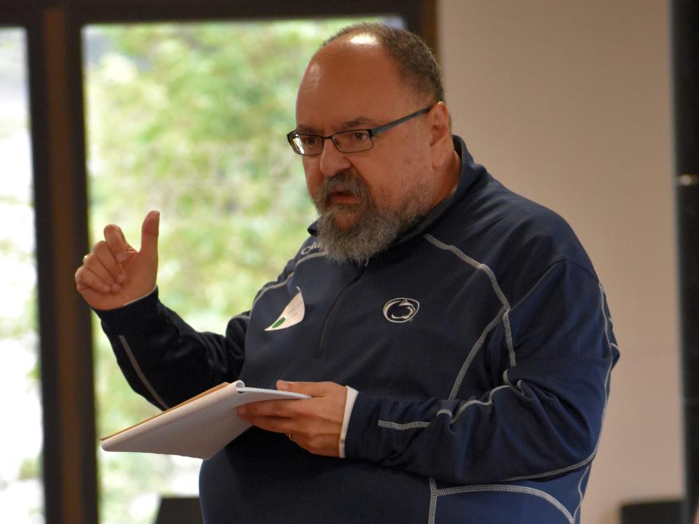 Penn State DuBois Associate Professor of English Tony Vallone.