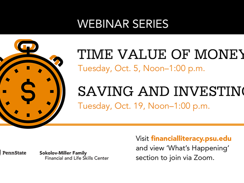 Time value of money, saving and investing