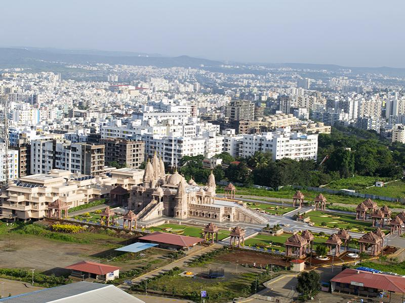 A view of Pune, India