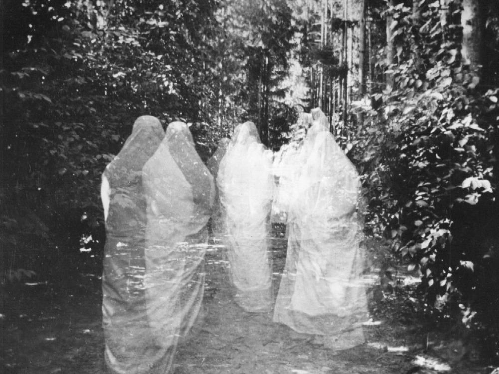 Fake photo of ghosts