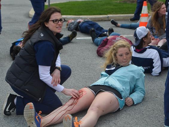 Nursing Mock Disaster Drill