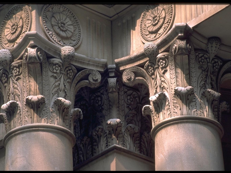 Columns of Old Main