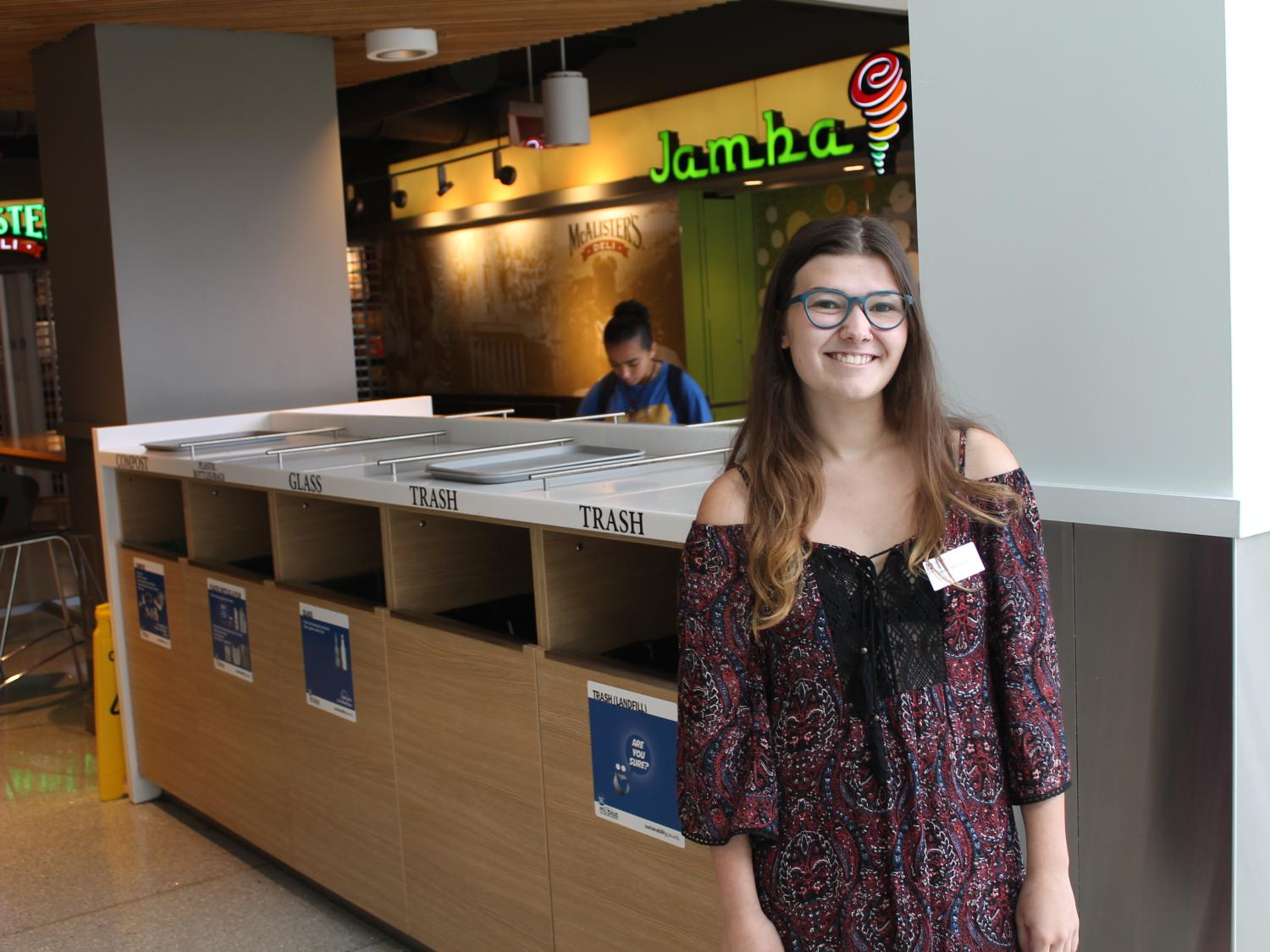 Anna Sostarecz joins Housing and Food Services as sustainability coordinator