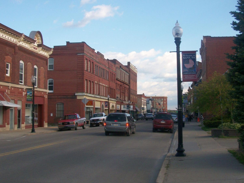 Kane PA downtown