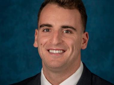 Third-year Dickinson Law student Michael McDonald