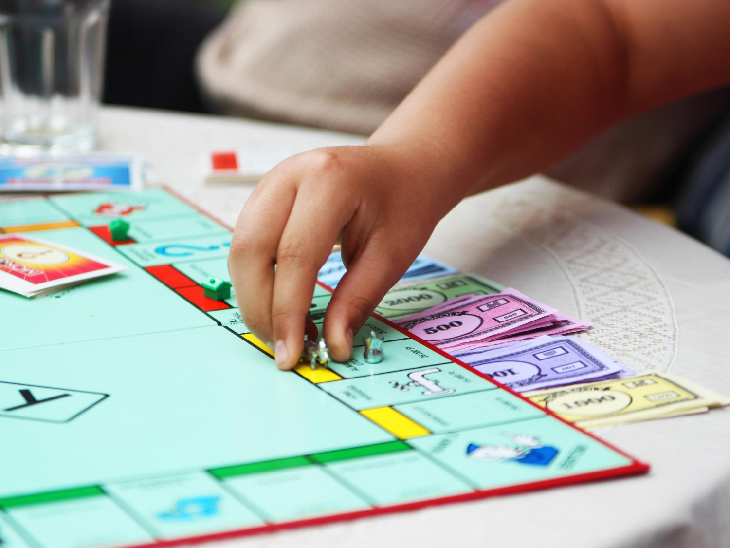 According to Eric Robbins, lecturer in finance, classic board games like Monopoly are still one of the best gift ideas for children.