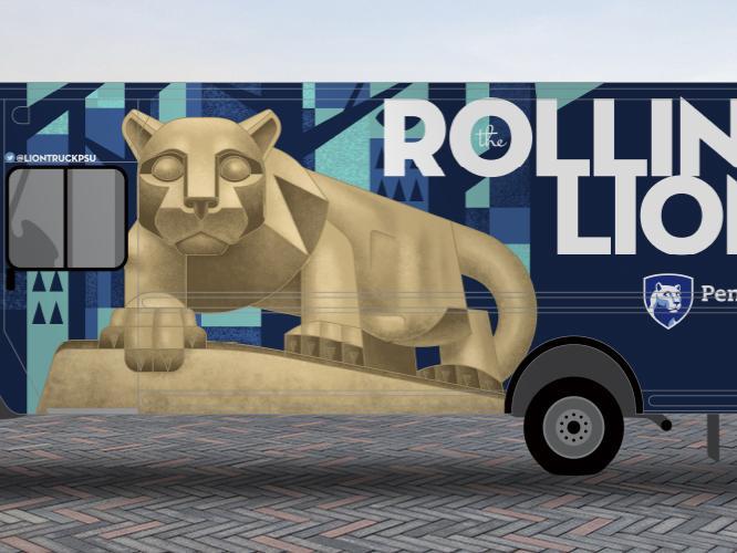 Rolling Lion Food Truck