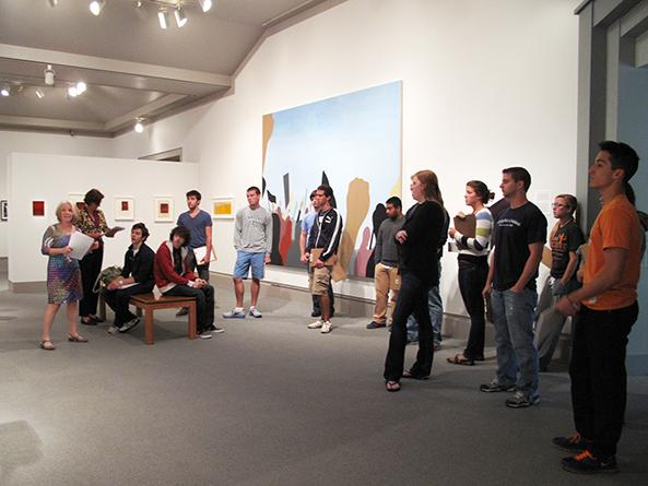 Gallery Talk at the Palmer Museum of Art