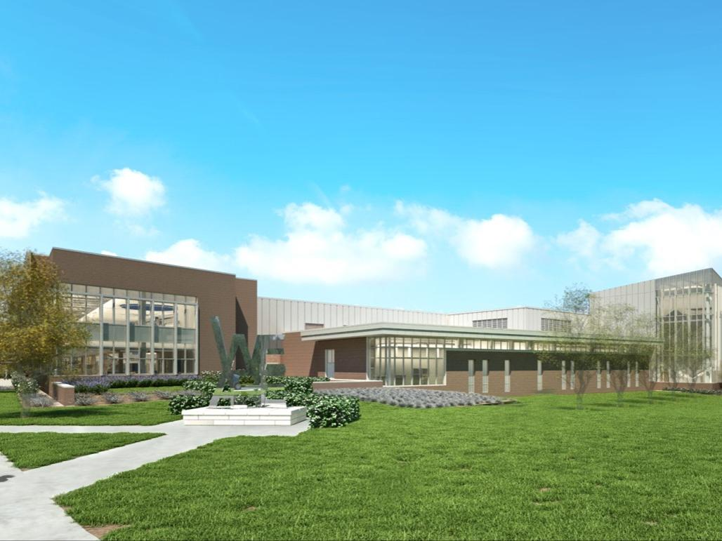 Rendering of IM Building phase 3