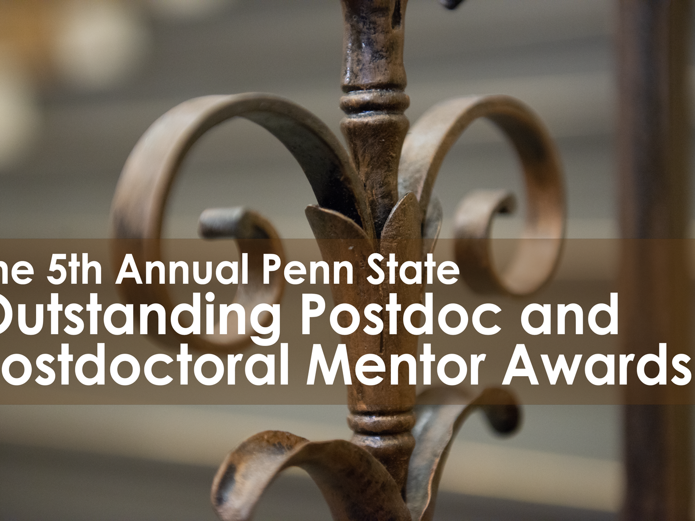 Annual Postdoctoral Scholar and Mentor Awards